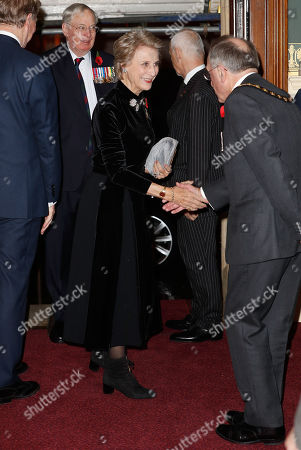 Stock Image of Birgitte, Duchess of Gloucester attends the Royal British Legion Festival of Remembrance at the Royal Albert Hall