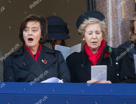 Cherie Blair and Norma Major