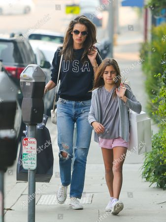 Editorial image of Alessandra Ambrosio out and about, Los Angeles, USA - 10 Nov 2018