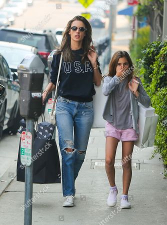 Editorial picture of Alessandra Ambrosio out and about, Los Angeles, USA - 10 Nov 2018