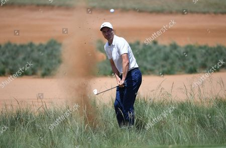 Ross Fisher on the 14 th green rough at the Nedbank Golf Challenge during The Nedbank Golf Challenge in Sun City, South Africa, 11 November 2018.