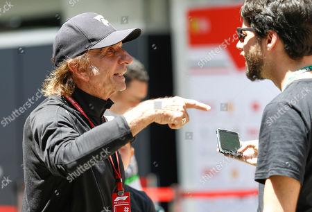 Motorsports: FIA Formula One World Championship 2018, Grand Prix of Brazil World Championship;2018;Grand Prix;Brazil ,    Emerson Fittipaldi F1 legend