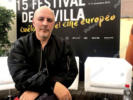 Roberto Alamo poses for the media during the premiere of the film 'Alegria Tristeza (Happiness Sadness)' at the Seville European Film Festival, in Seville, southern Spain, 11 November 2018, an event running from 09 to 17 November.