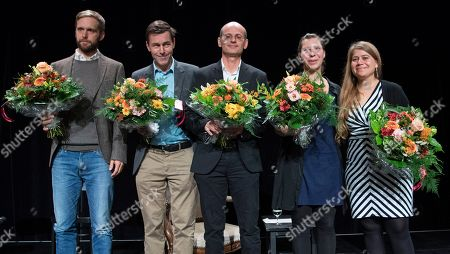 Editorial image of Swiss Book Prize ceremony in Basel, Switzerland - 11 Nov 2018