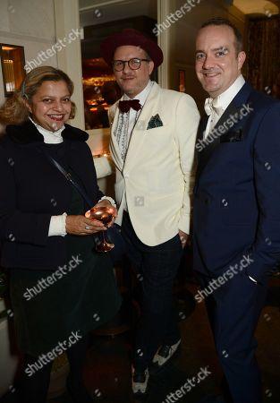 Tanya Ling, Simon Fowler Grant and Mike Niedzwiedzki
