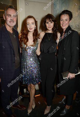 Matthew Anderson, Olivia Grant, Michelle Dockery and Victoria Brookes