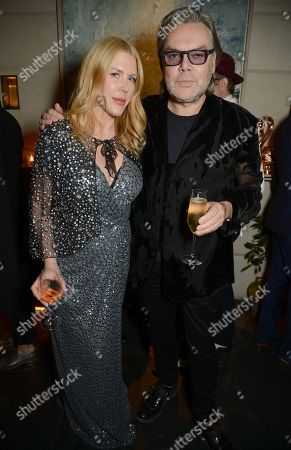 Fiona Leahy and David Downton