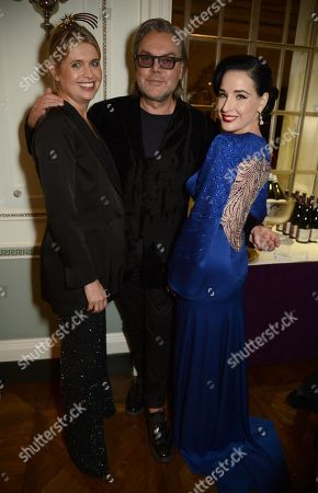 Jenny Packham, David Downton and Dita Von Teese