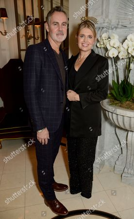 Matthew Anderson and Jenny Packham