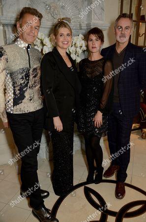 Chris Packham, Jenny Packham, Charlotte Corney and Matthew Anderson