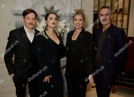 David Edwards, Adele Mildred, Jenny Packham and Matthew Anderson
