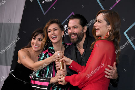 Editorial picture of People's Choice Awards, Press Room, Los Angeles, USA - 11 Nov 2018
