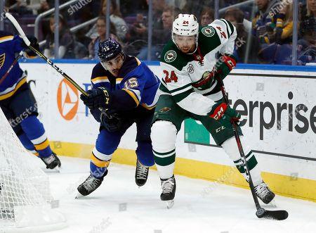 Minnesota Wild v St. Louis Blues