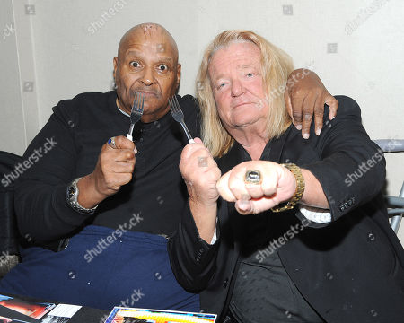Stock Image of Abdullah the Butcher and Greg Valentine