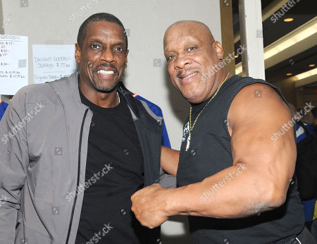 Dwight Gooden and Tony Atlas