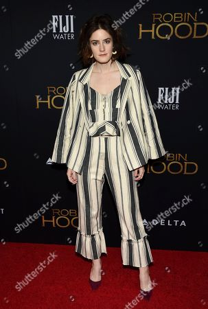 """Kayla Foster attends a special screening of """"Robin Hood"""" at AMC Loews Lincoln Square, in New York"""