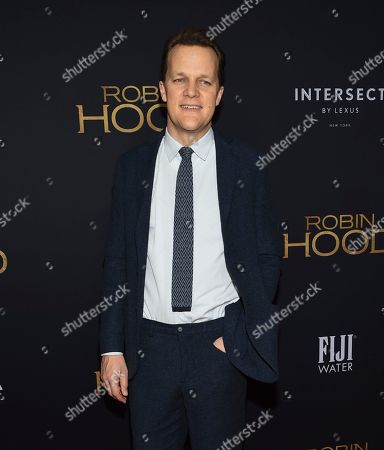 "Otto Bathurst attends a special screening of ""Robin Hood"" at AMC Loews Lincoln Square, in New York"
