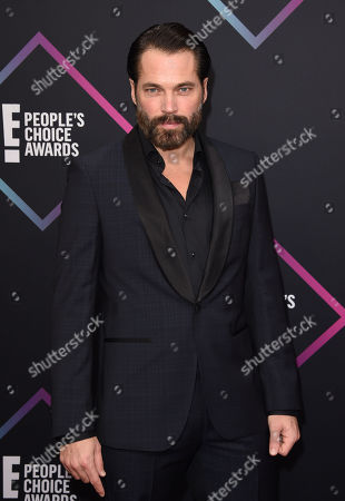 Stock Image of Tim Rozon the Peoples Choice Awards Arrivals, Los Angeles, USA - 11 Nov 2018