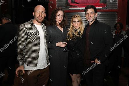 Daniyar, Eden Epstein, Zosia Mamet and Evan Jonigkeit