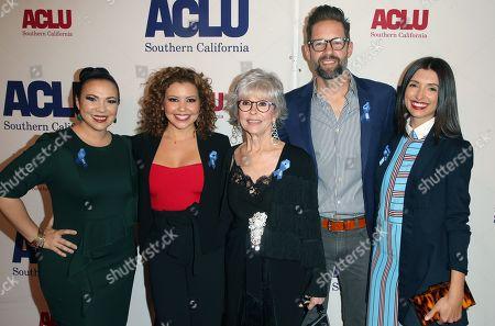 Justina Machado, Rita Moreno, India de Beaufort, Todd Grinnell