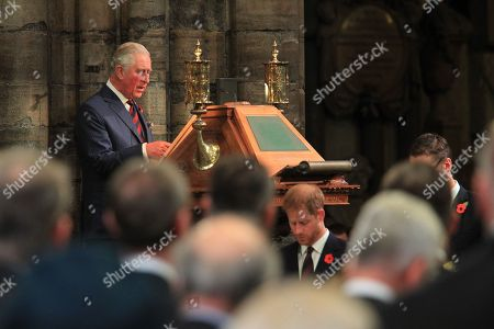 His Royal Highness Prince Charles reads ST JOHN 15: 9Ð15 - HRH Prince Harry