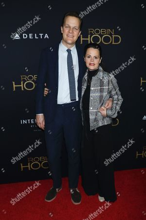 Editorial picture of 'Robin Hood' film premiere, Arrivals, New York, USA - 11 Nov 2018