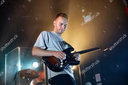 Editorial picture of Tom Misch in concert at O2 Academy, Newcastle, UK - 11 Nov 2018