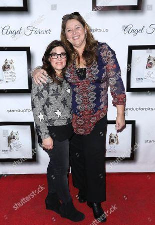 Rebecca Corry and Camryn Manheim
