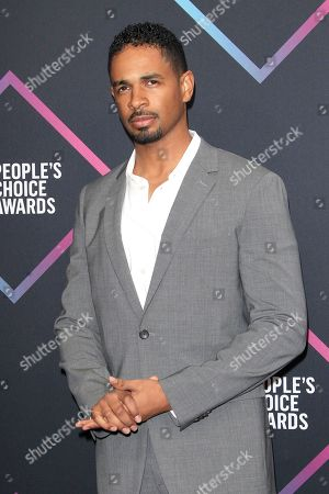 Damon Wayans Jr arriving for the 2018 People's Choice Awards at Barker Hangar in Santa Monica, California, USA, 11 November 2018.