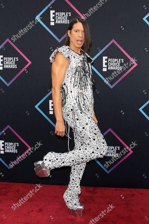 Jorge Gonzalez arriving for the 2018 People's Choice Awards at Barker Hangar in Santa Monica, California, USA, 11 November 2018.