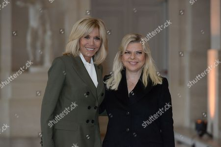 Editorial picture of Spouses Heads of State lunch, Versaille, France - 11 Nov 2018