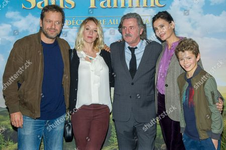 Editorial picture of 'Remi Sans Famille' film premiere, Paris, France - 11 Nov 2018