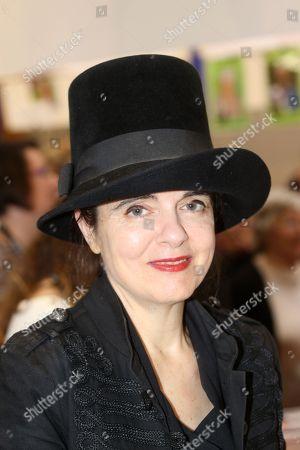 Stock Photo of Amelie Nothomb