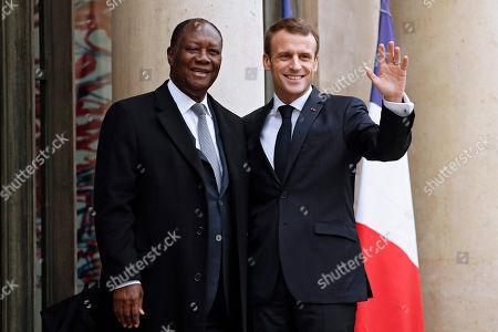 President of Ivory Coast Alassane Ouattara visit to Paris