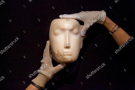 'The Man Behind the Mask' photocall, Bonhams, London