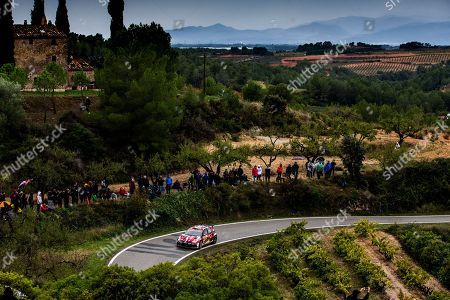 Petter Solberg  of Norway drives his VOLKSWAGEN Polo GTI R5 during day 3 of  the Rally of Spain 2018 as part of the World Rally Championship (WRC) in Barcelona, Spain, 27 October 2018.