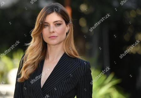 Vittoria Puccini poses during the photocall for 'Cosa fai a Capodanno?' (lit.: What do you do on New Year's Day?) in Rome, Italy, 12 November 2018. The movie opens in Italian theaters on 15 November.