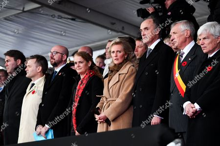 Princess Astrid, Julie Payette, Charles Michel, Prince Lorenz