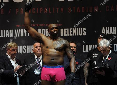 Dillian Whyte. Dillian Whyte V Robert Helenius Matchroom Boxing. Anthony Joshua V Carlos Takkam Weigh In Cardiff. 27/10/17