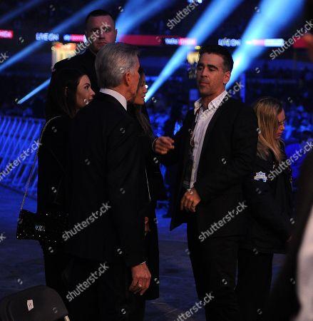 Colin Farrell. Matchroom Boxing. Anthony Joshua V Carlos Takkam Cardiff. 28/10/17 Frank Buglioni V Craig Richards Colin Farrell.