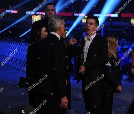 Colin Farrell. Matchroom Boxing. Anthony Joshua V Carlos Takkam Cardiff. 28/10/17 Frank Buglioni V Craig Richards.