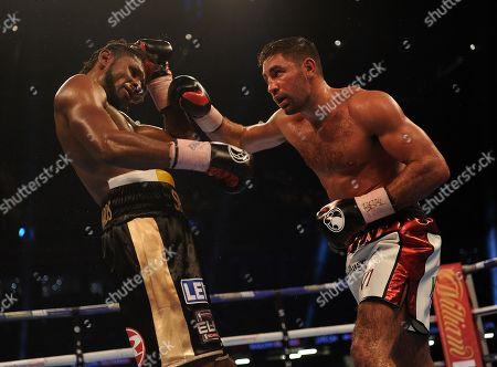 Frank Buglioni. Matchroom Boxing. Anthony Joshua V Carlos Takkam Cardiff. 28/10/17 Frank Buglioni V Craig Richards.