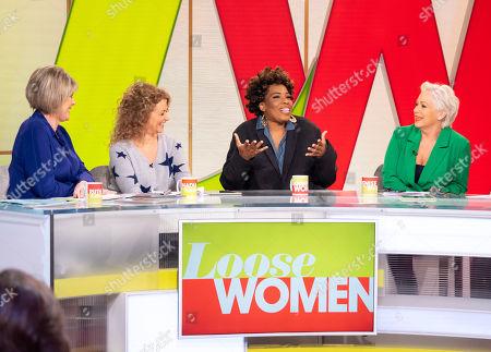 Ruth Langsford, Nadia Sawalha, Macy Gray, Denise Welch