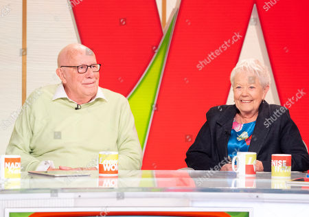Stock Image of Richard Wilson and Annette Crosbie