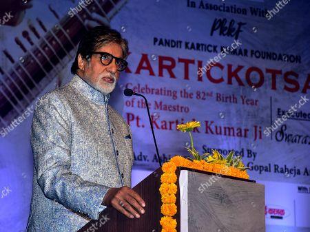 Indian film actor Amitabh Bachchan