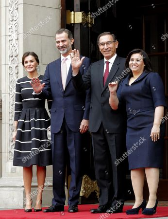 Spanish Royals visit to Peru