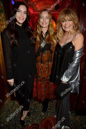 Liv Tyler, Lucie de la Falaise and Goldie Hawn