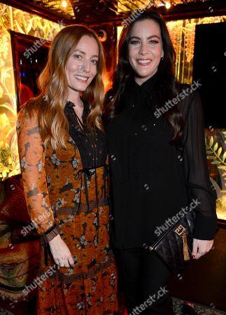 Lucie de la Falaise and Liv Tyler