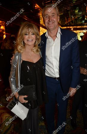 Editorial image of Goldie's Love-In for Kids charity fundraiser, Annabel's, London, UK - 12 Nov 2018