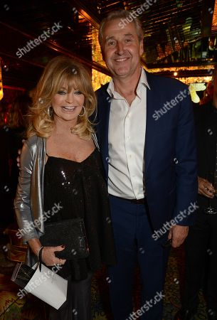Stock Image of Goldie Hawn and Mark Austin